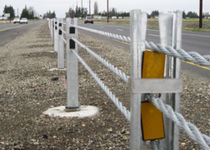 В Смоленской области установят тросовые отбойники на автодорогах