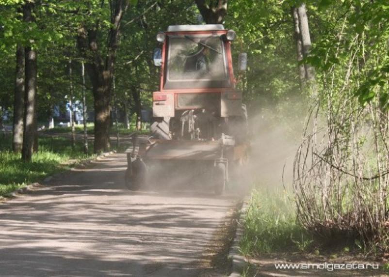 В Смоленске превышено содержание пыли