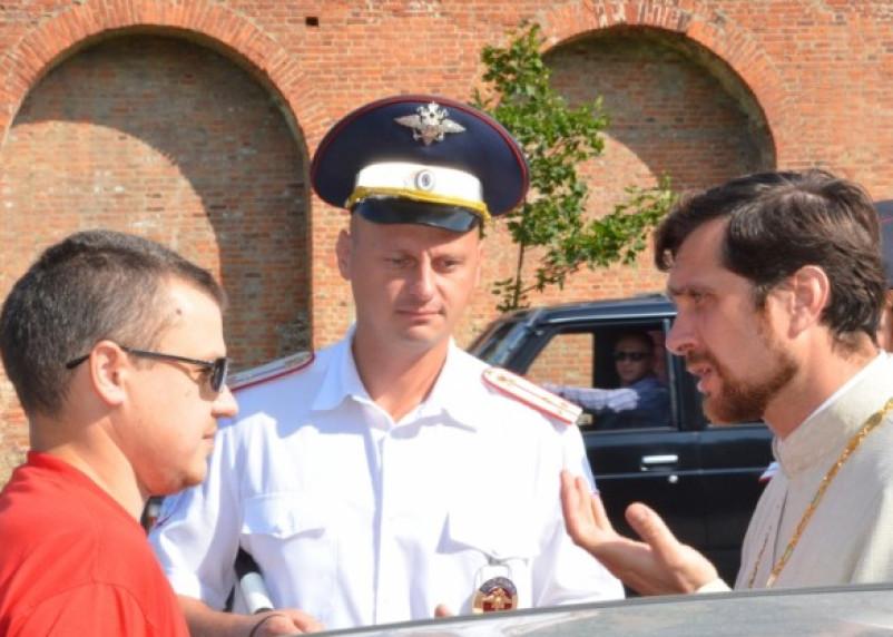 Полиция и Православная церковь провела совместный рейд на дорогах Смоленска