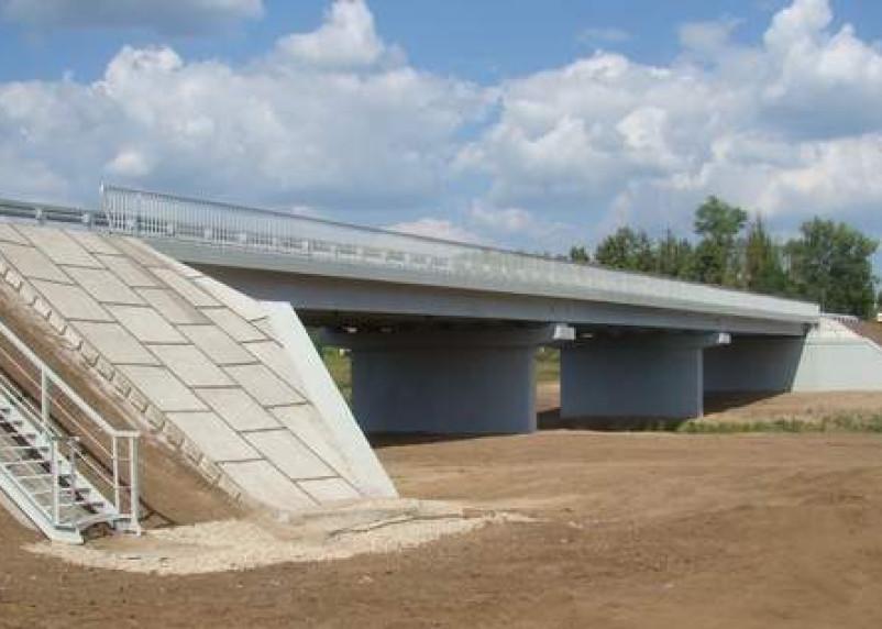 В Смоленской области отремонтировали мост через реку Сож