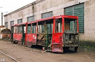 Граффитчики в Смоленске испортили 21 трамвай