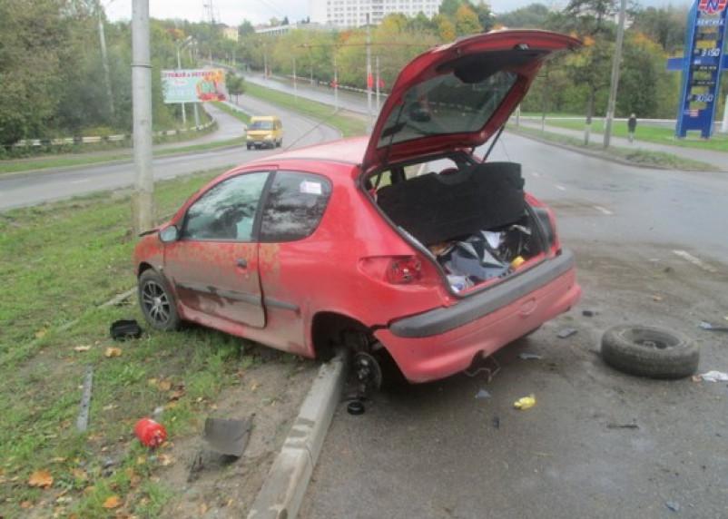 Неспокойная суббота на дорогах Смоленска