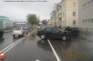 ДТП на Витебском шоссе в Смоленске