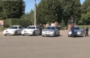 Смоленские полицейские пересаживаются на «Мерседесы»