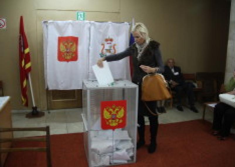 Олимпийская чемпионка проголосовала на выборах депутатов Смоленской облдумы