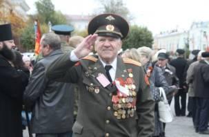 Воинский парад в Смоленске: ФОТОРЕПОРТАЖ