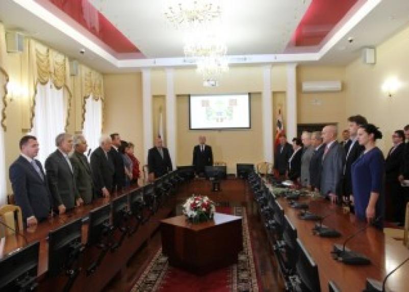 В Смоленске вручены регалии почетного гражданина города
