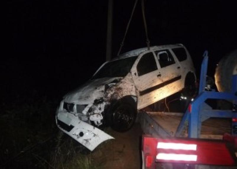 Невнимательность водителя в Рославльском районе привела к ДТП