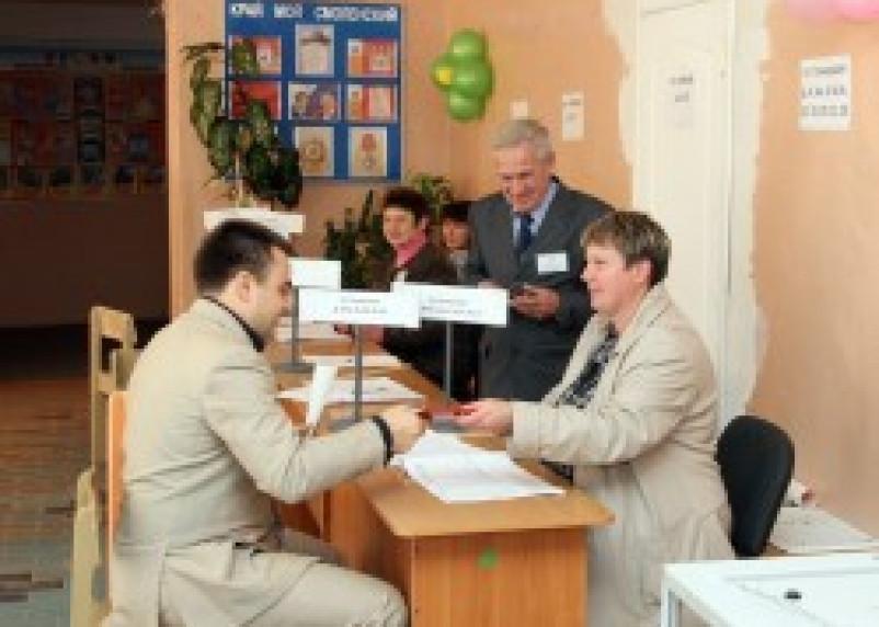 Депутат Госдумы проголосовал на выборах в Смоленскую облдуму