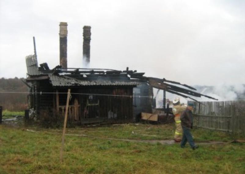 Пожар в Вязьме унес жизнь человека