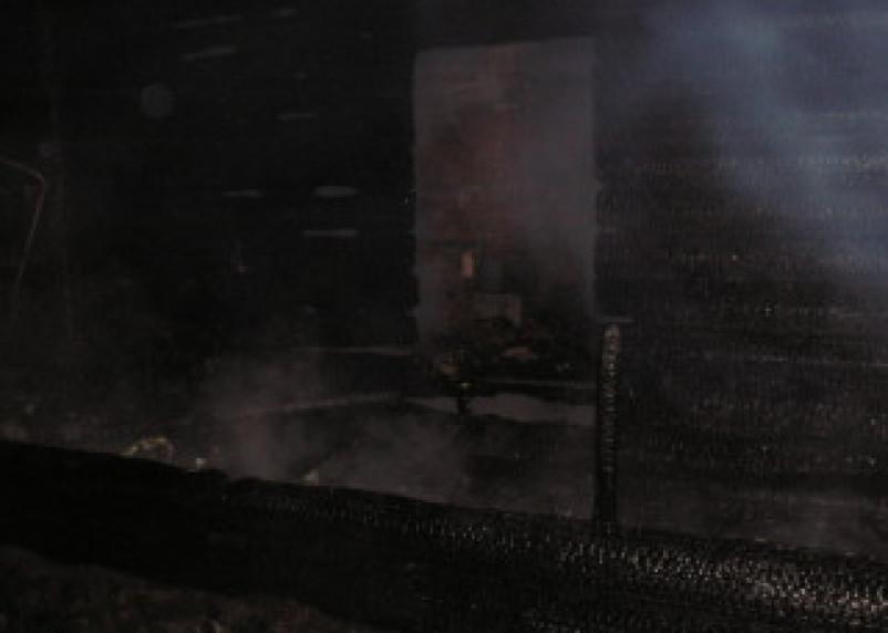 Пожар в Демидовском районе унес жизни двух человек