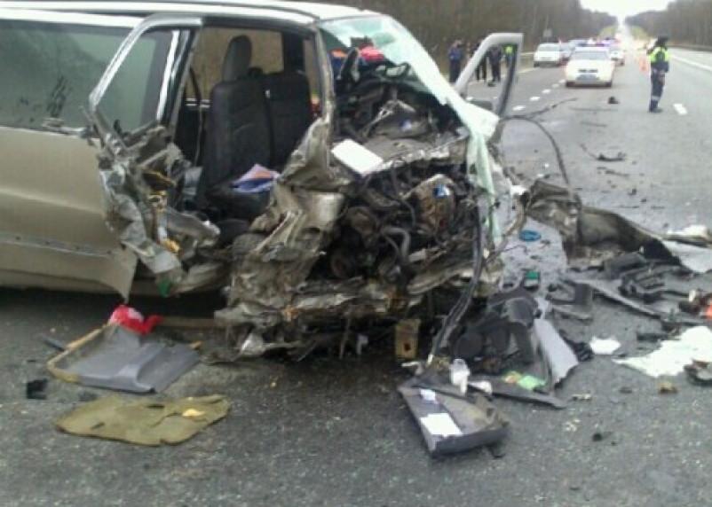 В аварии на трассе «М1-Беларусь» погибли четыре человека