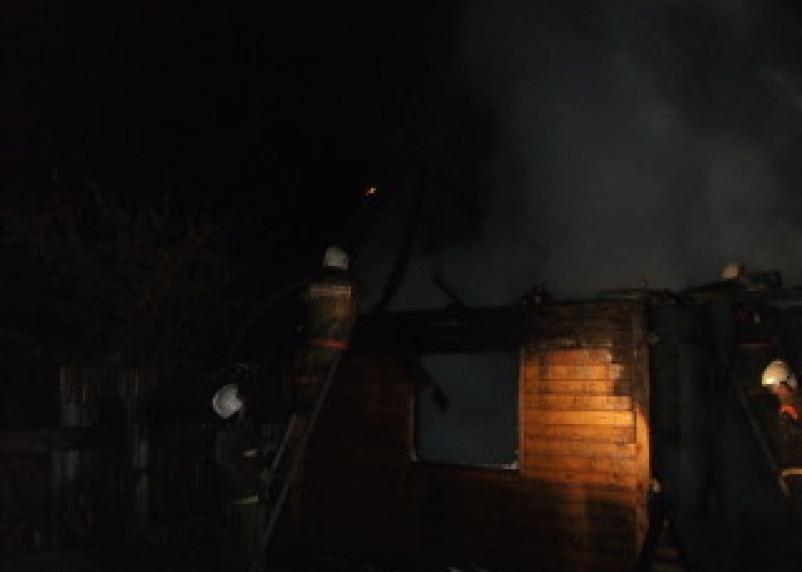 В субботу в Смоленской области произошло три крупных пожара