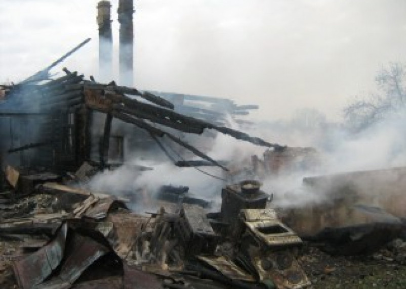 Пожар в Сычевском районе унес жизнь человека