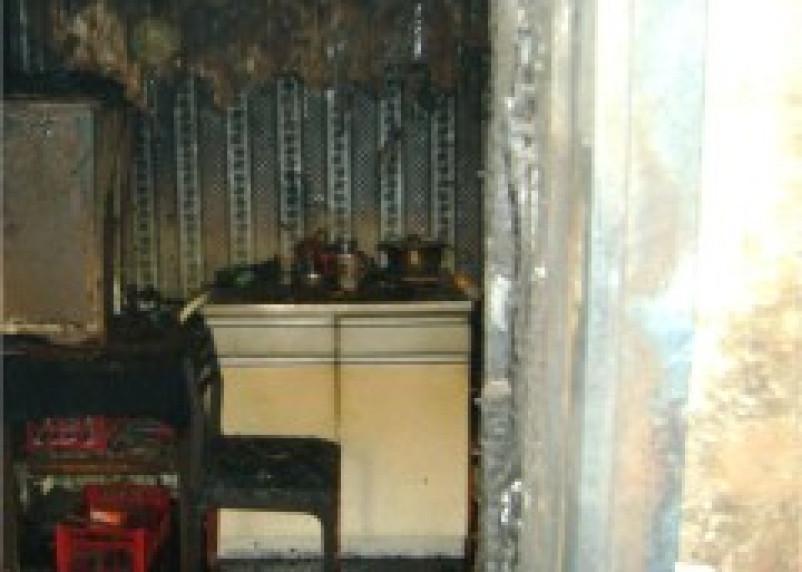 В Рудне Смоленской области сгорела квартира