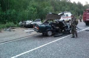 В ДТП в Хиславичском районе погиб человек