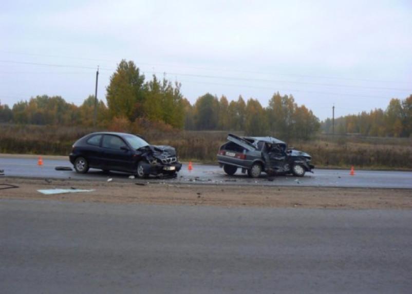 В Смоленской области произошло ДТП с участием полицейского
