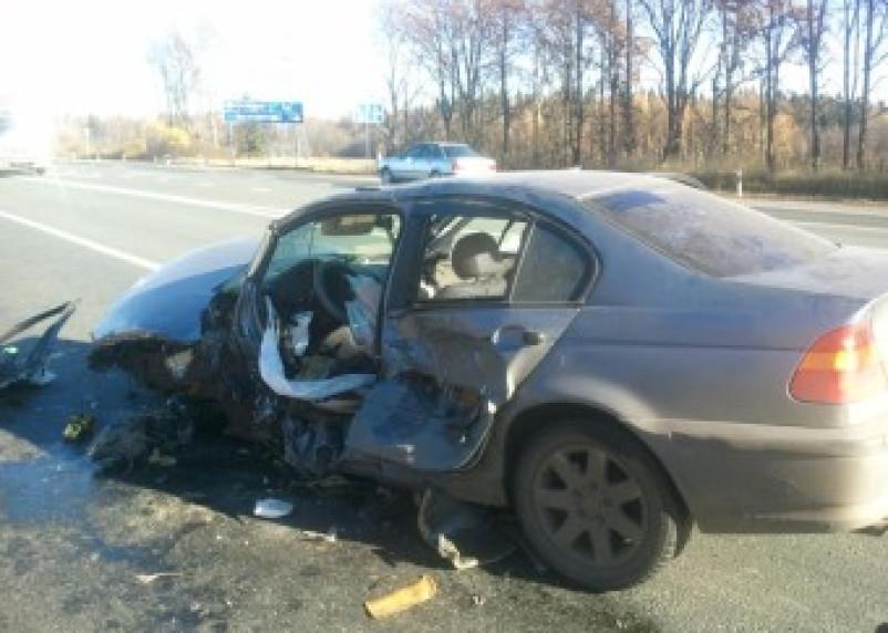 В ДТП на трассе «М1-Беларусь» пострадал человек
