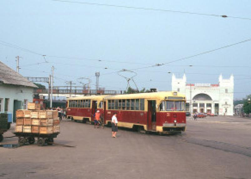 В Смоленске возобновлено движение трамваев по ул. Дзержинского
