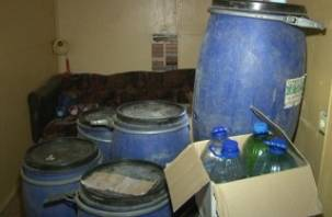 В Смоленске оперативники «накрыли» склад с контрафактным алкоголем
