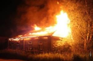 Пожар в поселке Колодня унес жизнь человека