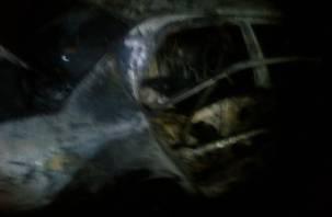 Ночью 15 ноября в Смоленске сгорели три автомобиля