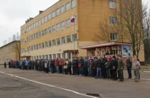 В смоленской Военной академии прошел день призывника