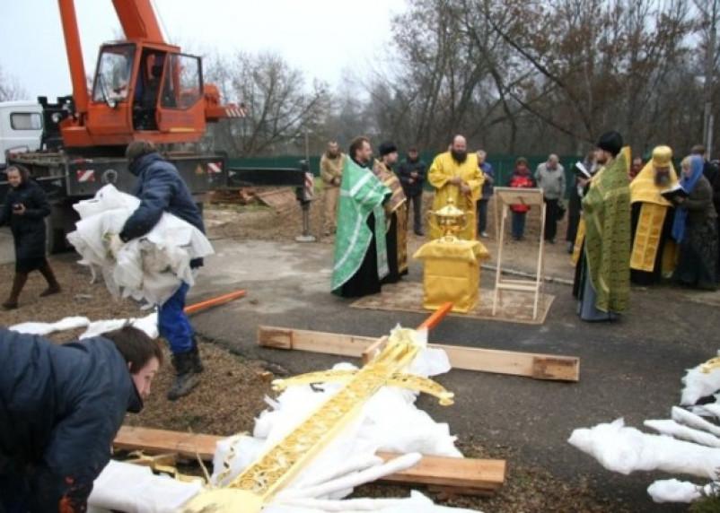 На Троицкий собор в Смоленске вернули кресты