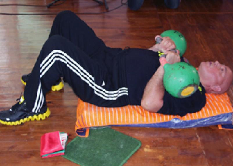 Мастер гиревого спорта установил в Смоленске мировой рекорд