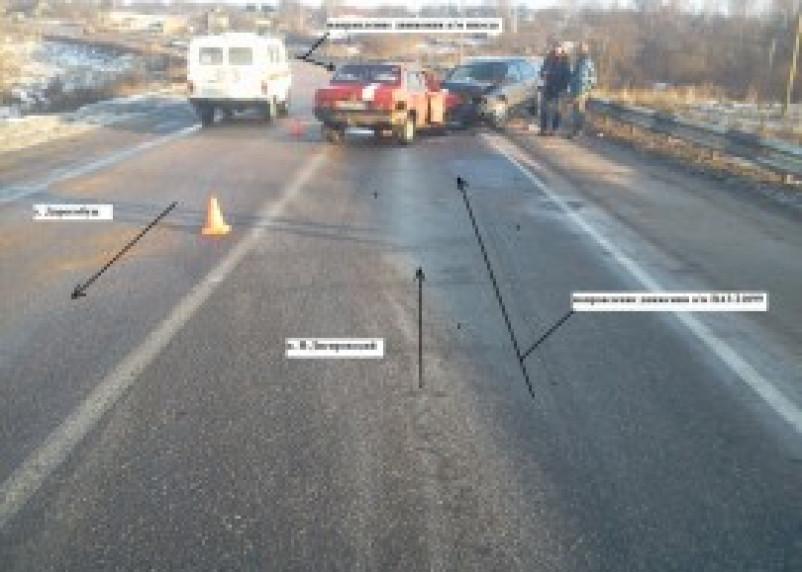 В нескольких ДТП в Смоленской области пострадали люди