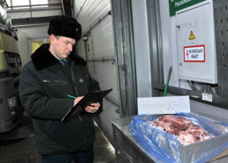 Смоленская таможня задержала 47 тонн контрабандной свинины