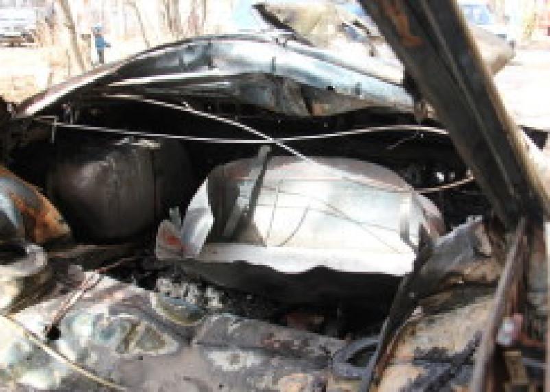 В Починке сгорели два автомобиля