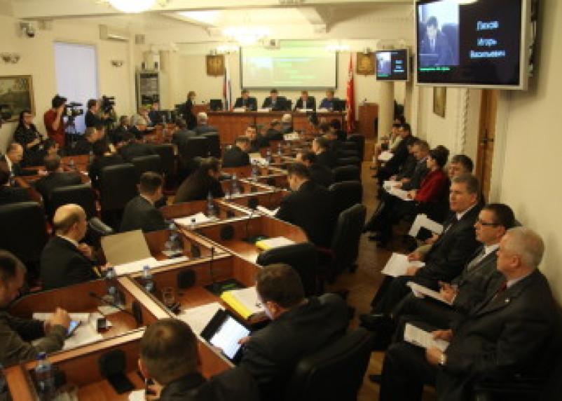 Областная Дума приняла бюджет Смоленской области на 2014 год
