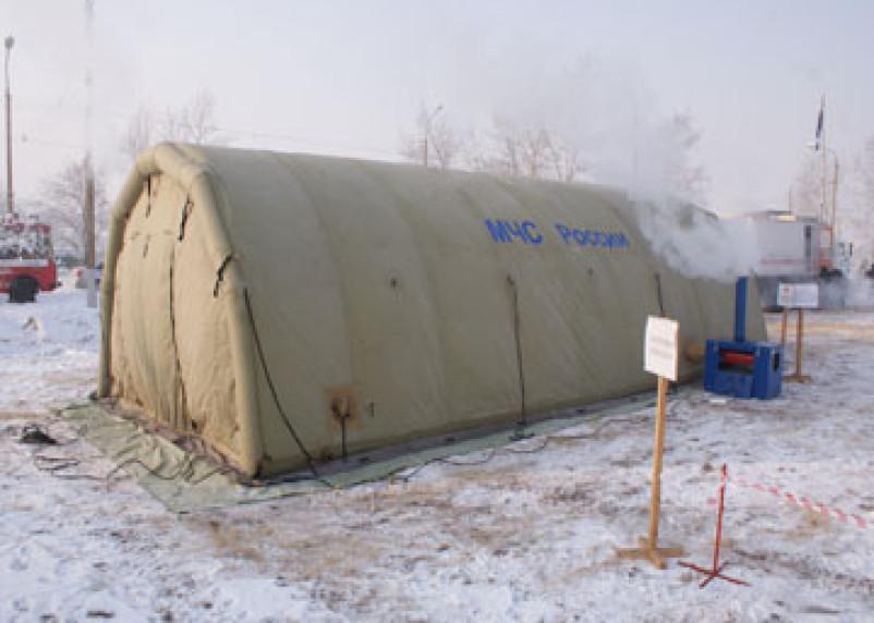 На трассе М1 в Смоленской области могут появиться пункты обогрева водителей