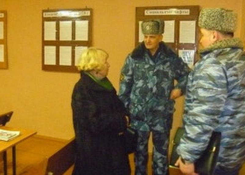Члены Смоленской областной общественной наблюдательной комиссии встретились с заключенными