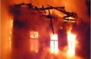 Пожар в Ярцевском районе унес жизнь