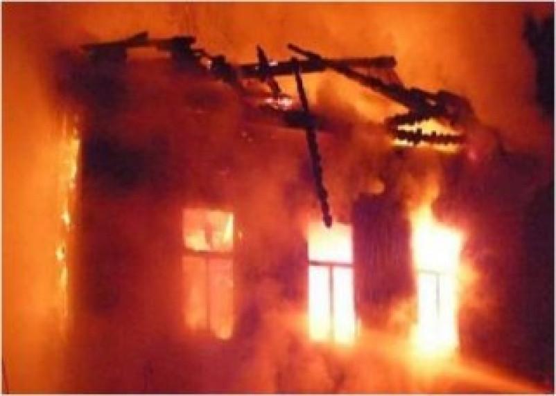 Огонь в Демидовском районе унес жизнь человека