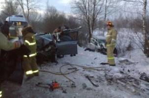 На автодороге Десногорск-Екимовичи в ДТП погиб человек