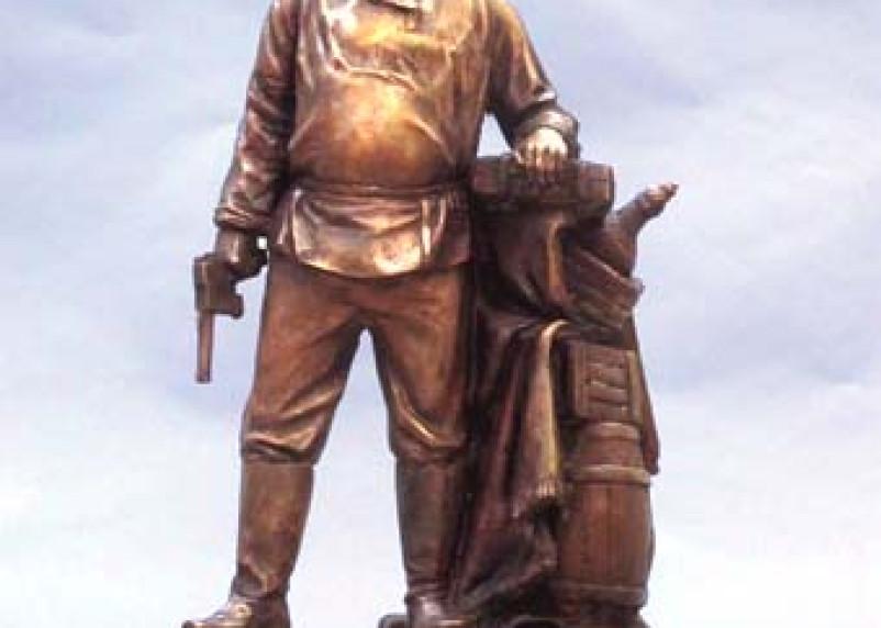 Памятник Павлу Верещагину делают в Смоленске