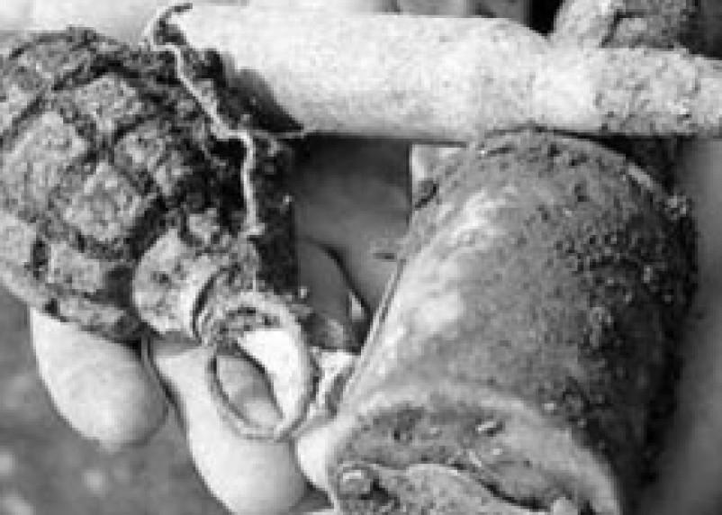 Житель Сычевского района хранил на чердаке боеприпасы времен войны