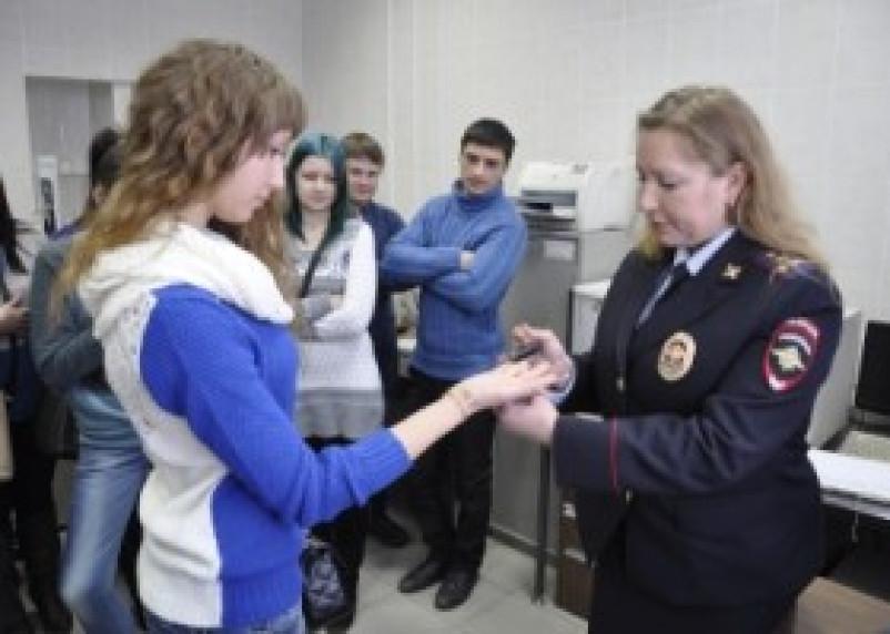Экспертно-криминалистический центр УМВД России по Смоленской области посетили студенты