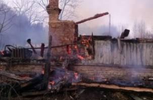 За четыре дня в Смоленской области от огня пострадало пять человек и сгорело пять домов