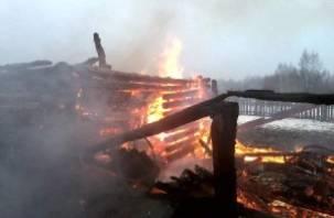 За два дня в Смоленской области сгорело 4 дома и пострадал один человек