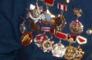 У ветерана поселка Холм-Жирковский украли медали