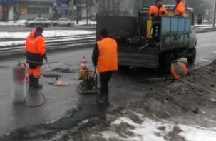 Смоленской области не хватило денег на строительство дорог