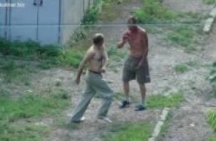 В Смоленском районе обезврежен дебошир с ножом
