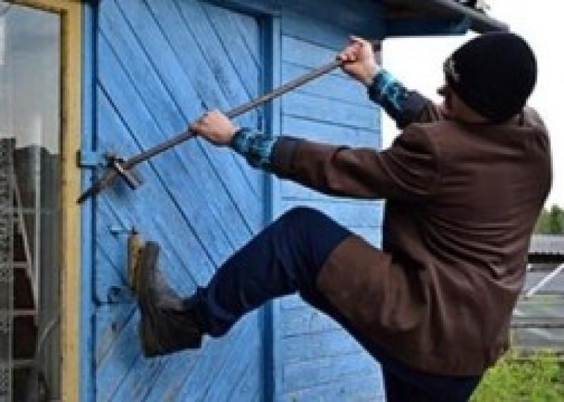 В Смоленске задержан дачный грабитель