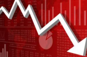 В России зафиксирован экономический спад