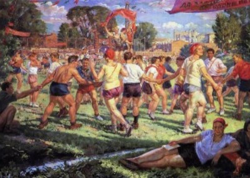 Смолянам покажут спорт в русском искусстве
