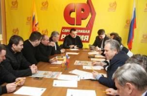 Эсеры определяются с кандидатом на выборы губернатора Смоленской области